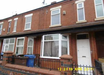 Thumbnail 3 bed terraced house to rent in Barff Road, Salford, Salford