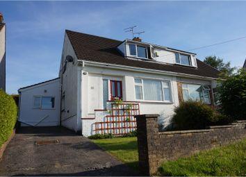Thumbnail 3 bed semi-detached house for sale in Treharne Drive, Bridgend