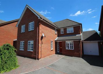 Thumbnail 4 bed detached house for sale in Howlett Close, Kesgrave, Ipswich
