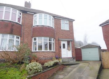 Thumbnail 3 bed semi-detached house for sale in Howe Hill Close, Poppleton Road, York