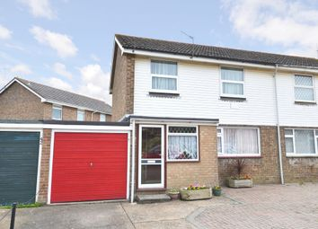 Thumbnail 3 bed semi-detached house for sale in School Crescent, Godshill, Isle Of Wight