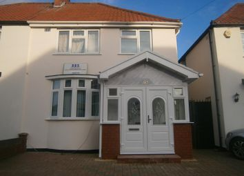 Thumbnail 3 bed semi-detached house to rent in Bishops Road, Hayes, Middlesex