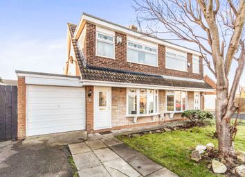 Thumbnail 3 bed semi-detached bungalow for sale in Knighton Court, Thornaby, Stockton-On-Tees