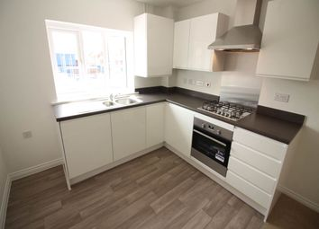 Thumbnail 1 bed flat to rent in Swan Crescent, Newport, Gwent