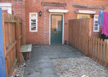 Thumbnail 1 bed terraced house to rent in B, Abingdon Road, Leicester