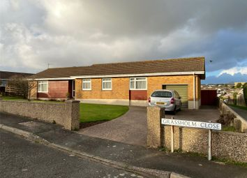 Thumbnail 4 bed detached bungalow for sale in Grassholm Close, Milford Haven, Pembrokeshire