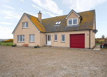 Thumbnail 4 bed detached house for sale in Burrigle, Caithness, Lybster, Highland