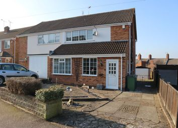 Thumbnail 3 bed semi-detached house for sale in Fairestone Avenue, Glenfield