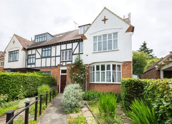 Thumbnail 5 bedroom semi-detached house for sale in Woodside Avenue, Muswell Hill, London