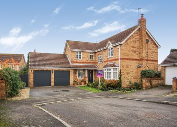 Thumbnail 4 bed detached house for sale in Mercia Drive, Ancaster, Grantham
