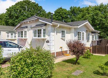Thumbnail 2 bed detached house for sale in Red Lion Caravan Park, London Road, Dunkirk, Faversham, Kent