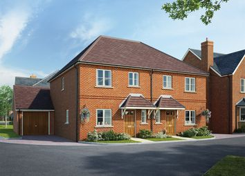 Thumbnail 3 bed semi-detached house for sale in Fleet Road, Hartley Wintney, Hook