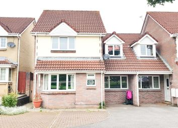 Thumbnail 3 bed semi-detached house for sale in Downside Close, Barrs Court, Bristol