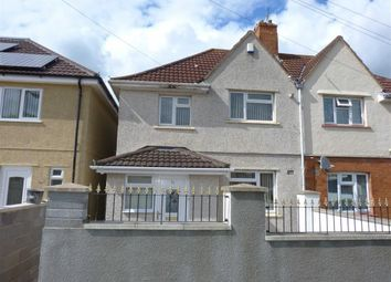 Thumbnail 3 bedroom semi-detached house for sale in Connaught Road, Knowle, Bristol