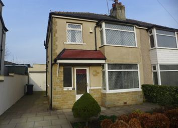 Thumbnail 3 bedroom semi-detached house for sale in Apperley Road, Apperley Bridge, Bradford