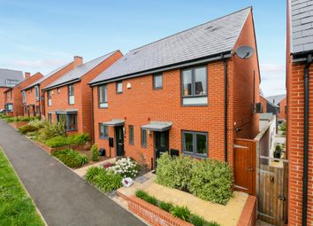 Thumbnail 2 bed semi-detached house for sale in Milbury Farm Meadow, Exminster, Exeter