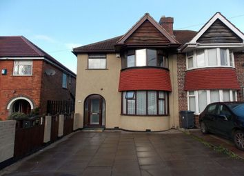 Thumbnail 3 bed semi-detached house to rent in Audley Road, Stechford, Birmingham