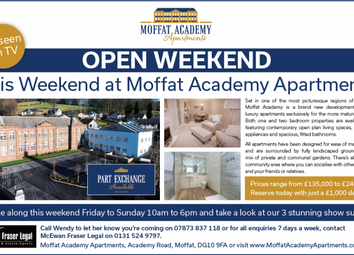 Thumbnail 7 bed flat for sale in Academy Road, Moffat, Dumfries And Galloway