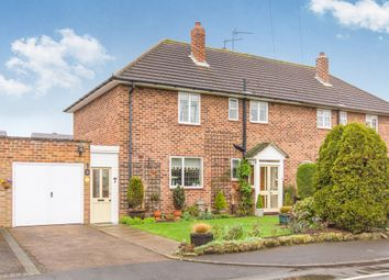Thumbnail 3 bed semi-detached house for sale in Mountford Close, Wellesbourne, Warwick