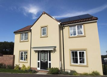 "Thumbnail 4 bed detached house for sale in ""The Buckingham"" at Station Road, South Molton"