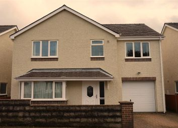 Thumbnail 4 bed detached house for sale in Station Road, Llanberis