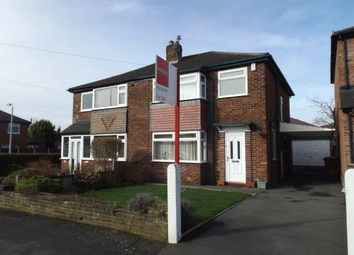Thumbnail 3 bedroom semi-detached house for sale in Capesthorne Road, Hazel Grove, Stockport, Cheshire