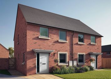 "Thumbnail 3 bed semi-detached house for sale in ""The Sheringham"" at South Newsham Road, Blyth"