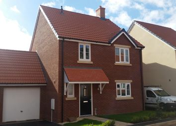 Thumbnail 4 bed link-detached house to rent in Morgan Street, Bridgwater