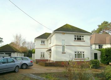 Thumbnail 4 bedroom detached house to rent in Dudsbury Road, West Parley, Ferndown