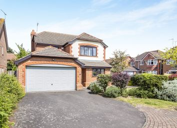 Thumbnail 4 bedroom detached house for sale in Geary Close, Narborough, Leicester