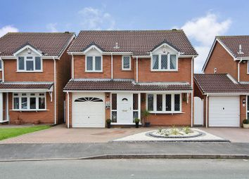 Thumbnail 5 bed detached house for sale in Oakwood Close, Essington, Wolverhampton