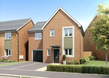 Thumbnail 3 bedroom detached house for sale in Branston Leas, Acacia Lane, Off Hollyhock Way, Branston
