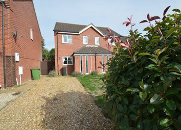 Thumbnail 2 bed semi-detached house for sale in St. Peters Drive, Easton, Norwich