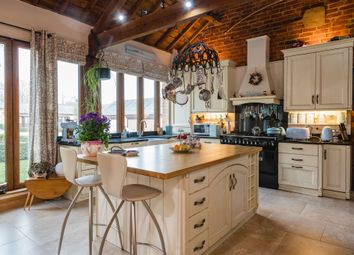 Thumbnail 4 bed barn conversion for sale in Church Lane, Seaton, Oakham