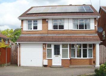 Thumbnail 4 bed detached house for sale in Woodham Close, Rubery