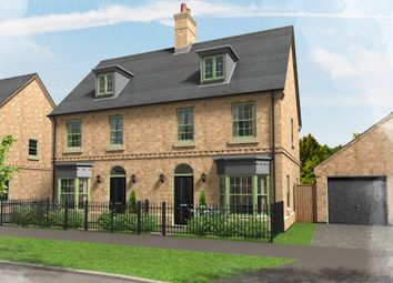 Thumbnail 3 bedroom terraced house for sale in Plot 32, Brampton Park, Brampton
