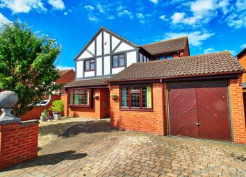 Thumbnail 4 bed detached house for sale in Teasel Close, Broomhall, Worcester