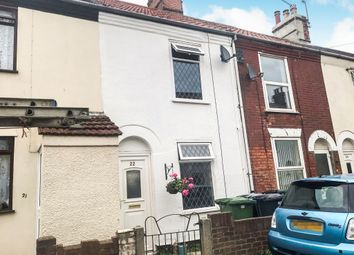 Thumbnail 3 bed terraced house for sale in Waveney Road, Great Yarmouth