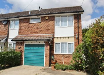 Thumbnail 3 bed end terrace house for sale in Mountbatten Drive, Waterlooville