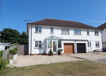 Thumbnail 3 bed semi-detached house for sale in Meadow Road, Budleigh Salterton, Devon