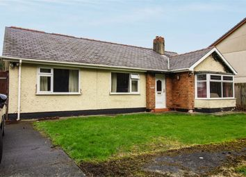 Thumbnail 3 bed detached bungalow for sale in Porthdafarch Road, Holyhead, Anglesey