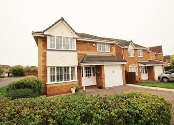 Thumbnail 4 bed detached house for sale in Stickle Close, Stukeley Meadows, Huntingdon