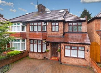 Thumbnail 4 bed semi-detached house for sale in Arundel Drive, Woodford Green