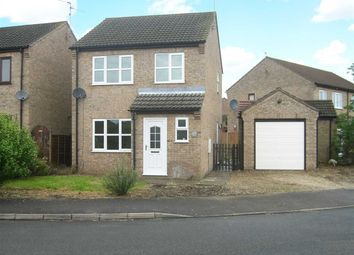 Thumbnail 3 bed detached house to rent in Alder Road, Sleaford