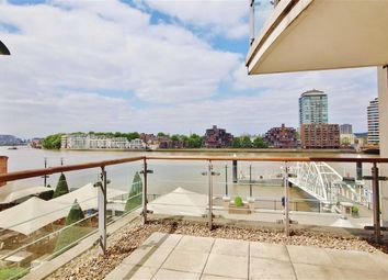 Thumbnail 2 bed flat to rent in Flagstaff House, St George Wharf, London