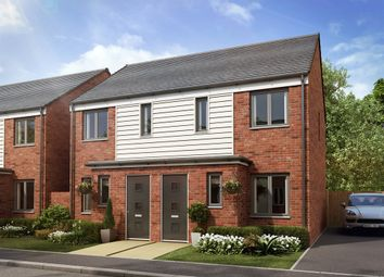 "Thumbnail 2 bedroom end terrace house for sale in ""The Alnwick "" at Mill Road, Aveley, South Ockendon"