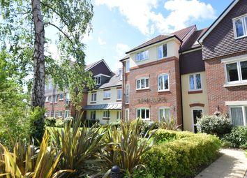 Thumbnail 2 bedroom flat for sale in Russell Lodge, Branksomewood Road, Fleet