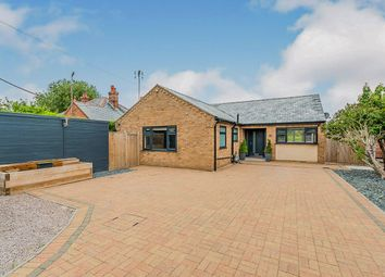 Thumbnail 3 bed detached bungalow for sale in School Road, Upwell, Wisbech