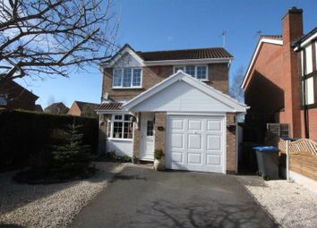 Thumbnail 3 bedroom detached house for sale in Nelson Drive, Hinckley