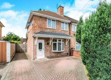 Thumbnail 2 bed semi-detached house for sale in Loeless Road, Kitts Green, Birmingham